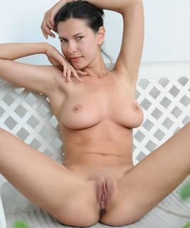 Titted Mädchen nackt.