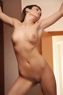 Französisch wohlgeformten nackten geglüht